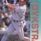 1992 Fleer 529 Len Dykstra