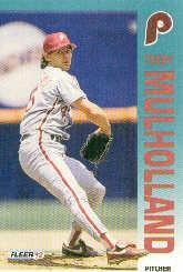 1992 Fleer 540 Terry Mulholland