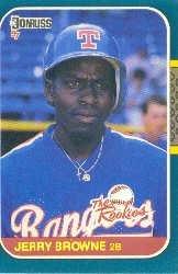 1987 Donruss Rookies #29 Jerry Browne