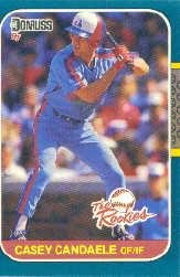 1987 Donruss Rookies #33 Casey Candaele