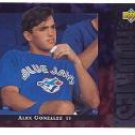 1994 Upper Deck #13 Alex Gonzalez