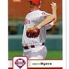 2006 Fleer #258 Brett Myers