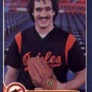 1986 Fleer #289 Sammy Stewart