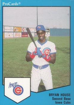 1989 ProCards Iowa Cubs #1700 Bryan House