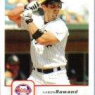 2006 Fleer #372 Aaron Rowand