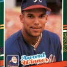 1991 Donruss 683 Dave Justice ROY