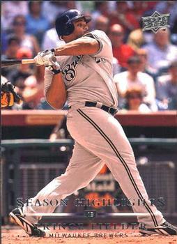 2008 Upper Deck #799 Prince Fielder SH