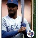 1989 Upper Deck 465 Curtis Wilkerson