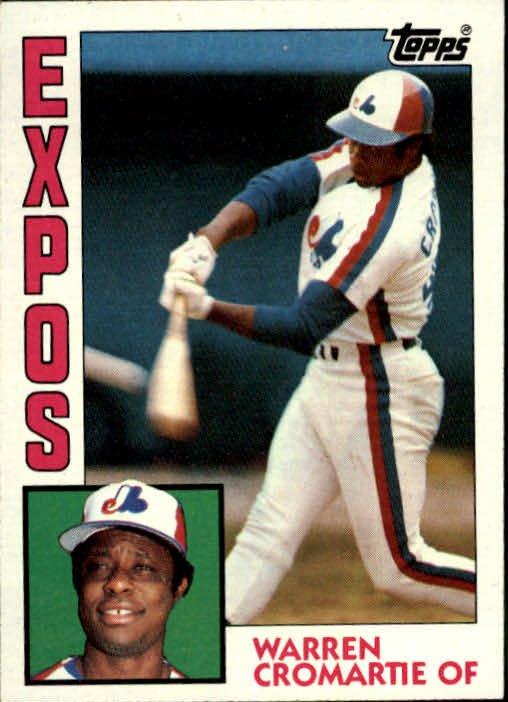 1984 Topps 287 Warren Cromartie