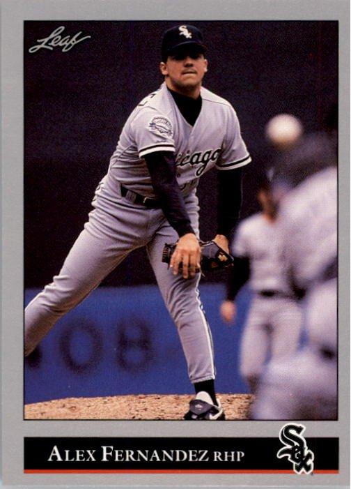 1992 Leaf 85 Alex Fernandez