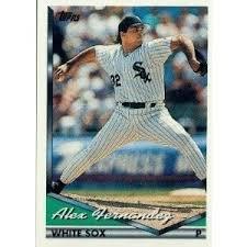 1994 Topps #599 Alex Fernandez