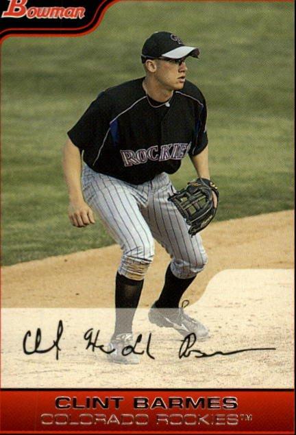 2006 Bowman #32 Clint Barmes