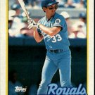 1989 Topps 670 Kevin Seitzer