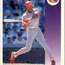 1992 Score 393 Glenn Braggs