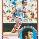 1983 Topps 520 Fred Lynn