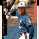 1986 Topps 344 Jim Wohlford