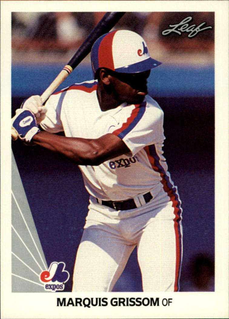 1990 Leaf 107 Marquis Grissom RC