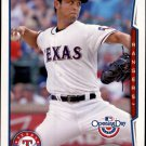 2014 Topps Opening Day 148A Yu Darvish/Pitching