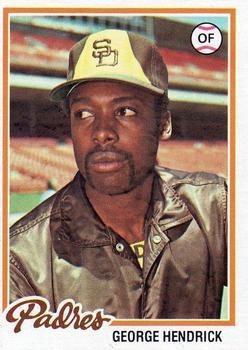 1978 Topps #30 George Hendrick