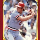 1986 Fleer Star Stickers #57 Tom Herr