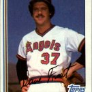 1982 Topps 24 Dave Frost