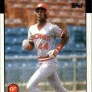 1986 Topps 28 Eric Davis