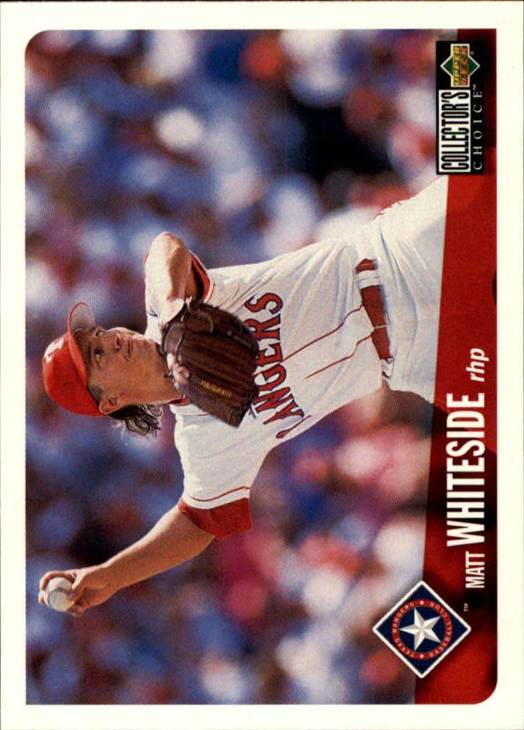 1996 Collector's Choice 736 Matt Whiteside