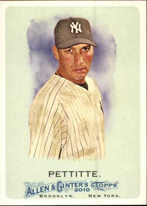 2010 Topps Allen and Ginter #26 Andy Pettitte