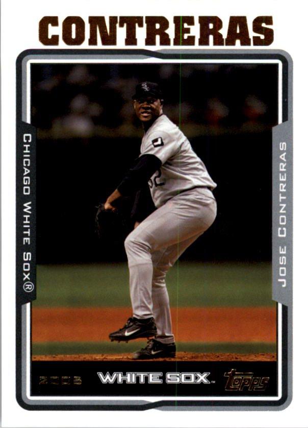 2005 Topps 439 Jose Contreras