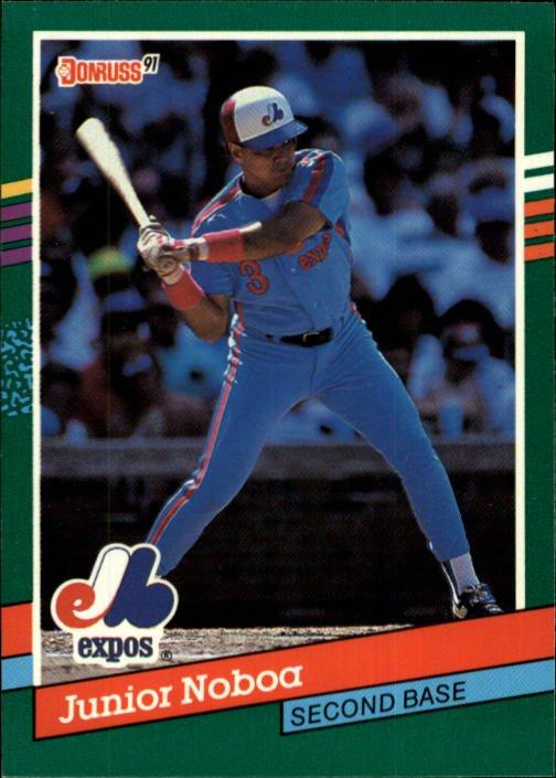 1991 Donruss 726 Junior Noboa