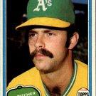 1981 Topps 154 Rick Langford