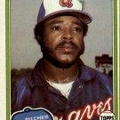 1981 Topps 542 Larry Bradford DP
