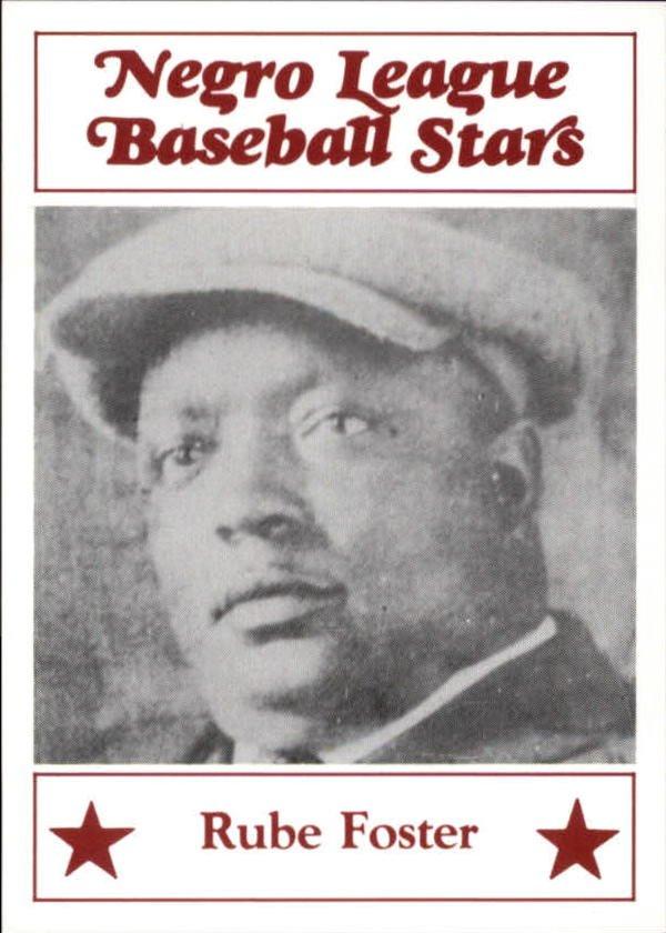 1986 Negro League Fritsch 18 Rube Foster
