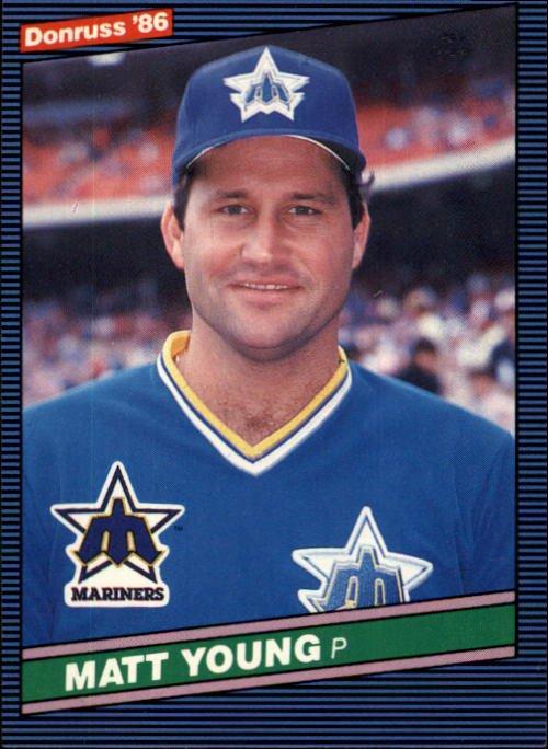 1986 Donruss 267 Matt Young