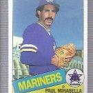 1985 Topps 766 Paul Mirabella