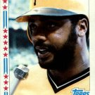 1982 Topps 343 Dave Parker AS