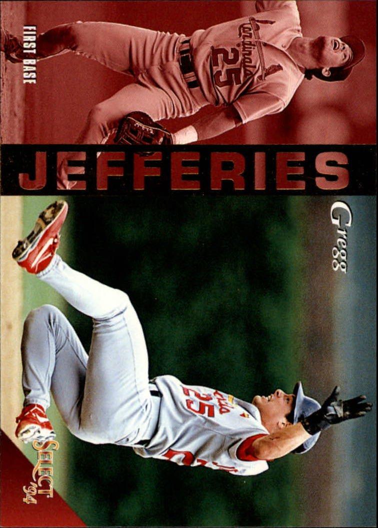 1994 Select 232 Gregg Jefferies