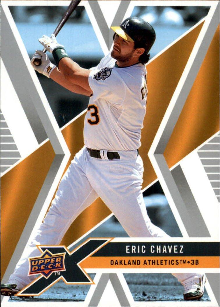 2008 Upper Deck X 72 Eric Chavez