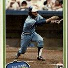 1981 Topps 247 Glenn Hubbard DP