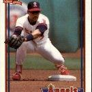 1991 Topps 273 Johnny Ray