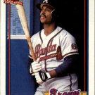 1991 Topps 306A Lonnie Smith ERR