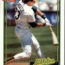 1991 Topps 700 Jose Canseco