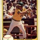 1981 Fleer 587 Wayne Gross