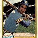 1981 Fleer 601 Julio Cruz