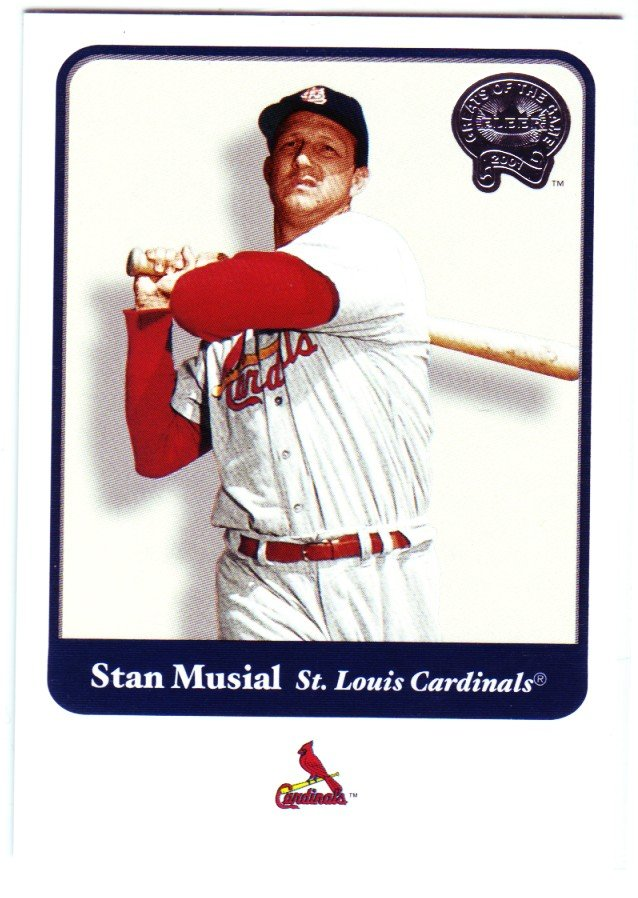 2001 Greats of the Game 109 Stan Musial