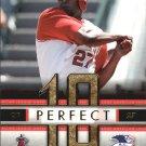 2007 Fleer Perfect 10 VG Vladimir Guerrero