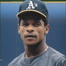 1990 Collect-A-Books 8 Rickey Henderson