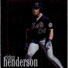 2000 Topps 233 Rickey Henderson 20CB