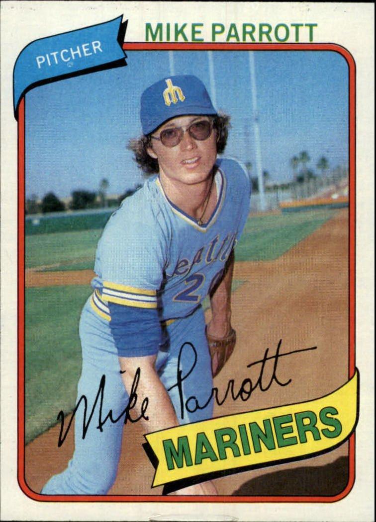 1980 Topps 443 Mike Parrott