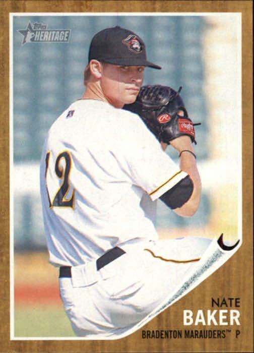 2011 Topps Heritage Minors 60 Nate Baker